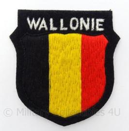 """SS-Freiwilligen Panzergrenadier Division """"Wallonien"""" Wallonie Waals legioen armschild"""