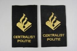 Politie Centralist epaulletten schouderset - Origineel