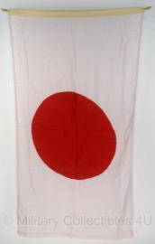 Japanse vlag (rode stip) - katoen ! - 160 x 90 cm.