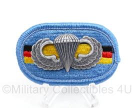 Us Army Oval Wing met parawing - 6 x 4 cm - origineel