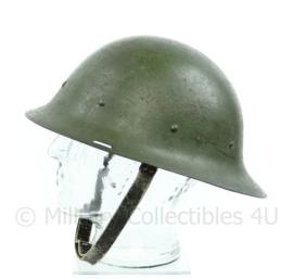 Nederlandse M16 helm met binnenwerk - donkergroen - - volledig origineel -  zeldzaam - origineel