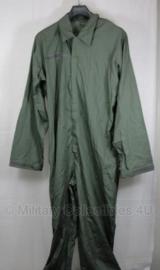 Klu luchtmacht Overall / Werkpak Tropen groen Overall tropen grijsgroen - 100% katoen - maat 50 of 52 - NIEUW in verpakking - origineel