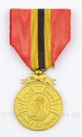 """Belgische """"1865-1905"""" goud medaille - Origineel"""