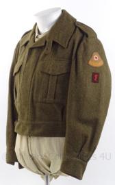 """MVO uniform jas """"Geneeskundige troepen""""- maat M - origineel"""
