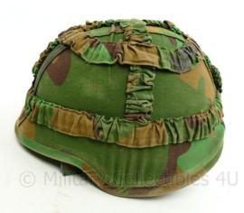 Defensie los jungle helmovertrek voor over de composiet helm (ZONDER helm)  - maat M - origineel