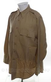 US WO2 officiers overhemd - lange mouw - maat XL/short - origineel