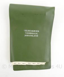 KL Landmacht  veldzakboek voormalig Joegoslavie - 20 x 13 cm - origineel