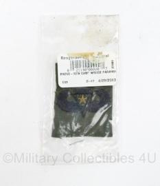 US Army BDU Combat parawing badge met ster - 2 stuks in verpakking - origineel