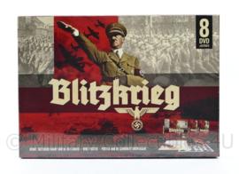 DVD giftset  De Blitzkrieg bevat : DVD, tactische kaart en voertuigposter - speelduur 750 minuten - nieuw - origineel