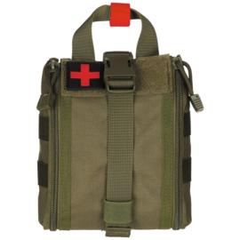 Medische tas geneeskundige dienst BLS IFAK Bag MOLLE - SMALL  - 16 x 18 x 8 cm. - nieuw gemaakt - GREEN