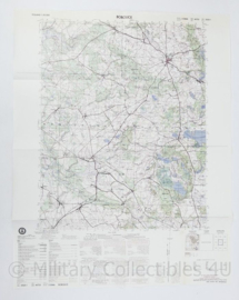 USA Defence mapping agency stafkaart Poland Bobolice M753 2525I - 1 : 50.000 - 74 x 58 cm - origineel