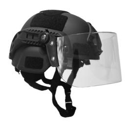 MICH FAST helm met Visier - voor DSI en speciale eenheden