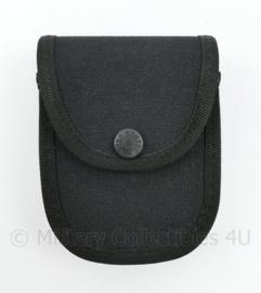 Britse politie handboeien tas zwart Nylon - merk Protec - 11 x 9,5 x 4  cm - nieuw -  origineel