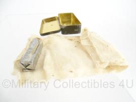 NL brillenzalf voor gasmaskers - blik met inhoud - Origineel