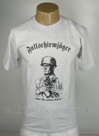 T shirt Fallschirmjäger - grijs - Small