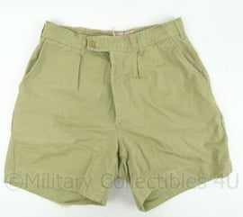 KM Koninklijke Marine tropen korte broek - khaki - taille 37 cm - origineel
