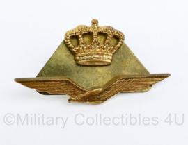 Klu Luchtmacht  insigne set voor op het schuitje - 5 x 2,5 cm origineel