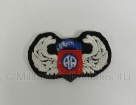 WWII US 82nd Airborne Division oval wing