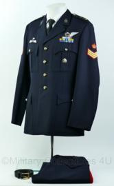 Korps Mariniers Barathea set met zeer veel onderscheidingen en KCT TOR - Zeldzaam - Maat 50 -  Origineel