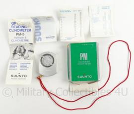 Suunto PM5/360PC clinometer (hoogtemeter) - nieuw in doos - met zwarte draagtas - origineel