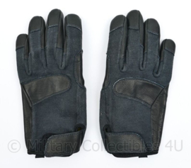 Defensie en Kmar Koninklijke Marechaussee Tactical gloves Aramdie/Leder BLACK - maat 6 tm. 7 - origineel