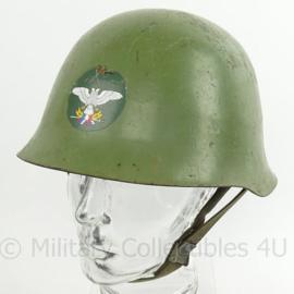 Servische Luchtmacht helm met luchtmacht sticker - met liner - zeldzaam - origineel