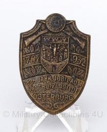 Duitse WO II 1707-1932 osterburg Schutzengilde insigne - origineel