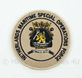 NLMARSOF Netherlands Maritime Special Operations Force embleem - met klittenband - diameter 9 cm