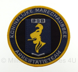 KMAR BSB Koninklijke Marechaussee Arrestatieteam embleem - met klittenband - 9 x 9 cm