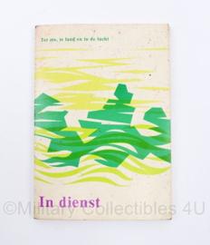Defensie informatie boekje In dienst 1974 Ter Zee, ter Land en in de Lucht - origineel