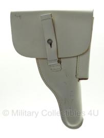 Walther P1 holster P38 holster Bundeswehr - WIT leer - MODEL MET HAKEN - origineel