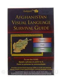 KL Nederlandse leger Afghanistan visual language  Survival Guide - origineel
