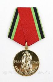 Russische USSR  overwinning medaille Herinneringsmedaille 1945-1965 - 32 MM - origineel