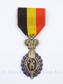 Belgische ereteken van de arbeid 2e klasse zilver medaille - Origineel