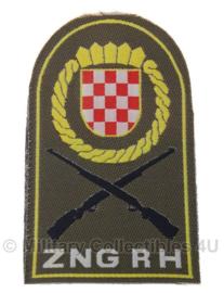 Kroatisch ZNG RH National Guard burgeroorlog embleem - origineel