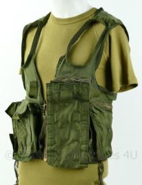 US Army pilot survival vest MET extra holster - groen - gebruikt - zeldzaam - origineel