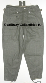 M43 keilhose M1943 replica WO2 Duits - maat Small, Large of XXL (valt klein uit)