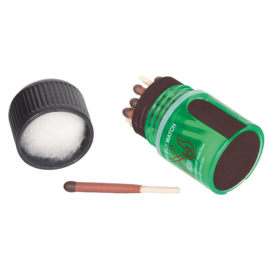 BCB Matches waterproof in waterproof container - per 25 lucifers