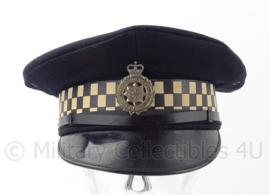 Britse Politie Police platte pet - West Yorkshire Metropolitan - maat 54 - origineel