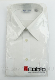 Korps Rijkspolitie en Gemeentepolitie overhemd LANGE MOUW - nieuw in de verpakking - merk Fablo - maat 40/4 - origineel