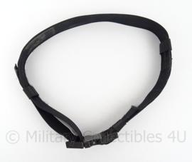 KMAR Koninklijke Marechaussee en Politie Tactische koppel - zwart nylon - 98 cm - origineel