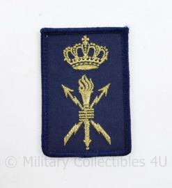 Koninklijke Marine dienstvak onderscheidingsteken Dienstgroep Technische dienst - model na 2014 - met klittenband - 8 x 5 cm - origineel