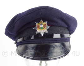 Britse politie Police Mid and West Wales platte pet - maat 58 - origineel