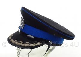 Korps Rijkspolitie pet - hoge rang Dirigerend officier - maat 58 - origineel