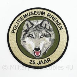 Nieuw embleem Politiemuseum Rhenen - diameter 10 cm - origineel