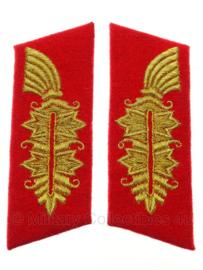Generaals kraagspiegel Paar replica wo2 Duits Heer (2 secties)