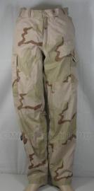 KL Nederlandse leger Desert camo broek - meerdere maten - gedragen - origineel