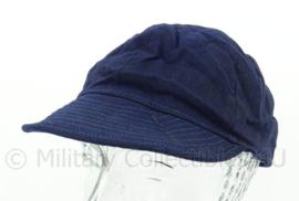 KM Marine cap boord tenue - blauw - maat 57 - origineel