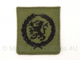 KL Gvt stoffen insigne Algemeen Functiebekwaamheidsembleem - zwart/groen - origineel