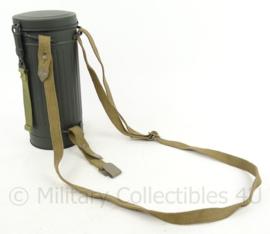 Gasmasker riemen set - Khaki (zonder bus)